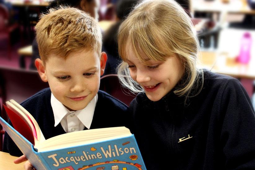 girl-boy-reading-book