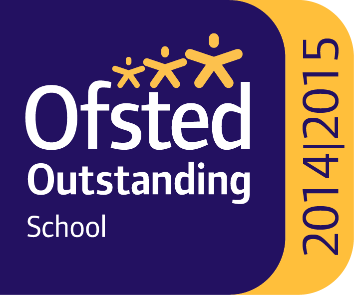 Ofsted Outstanding School 2014-2015 logo