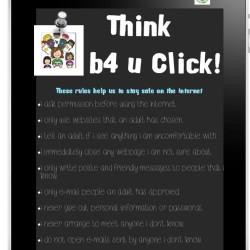 Think B4 U Click