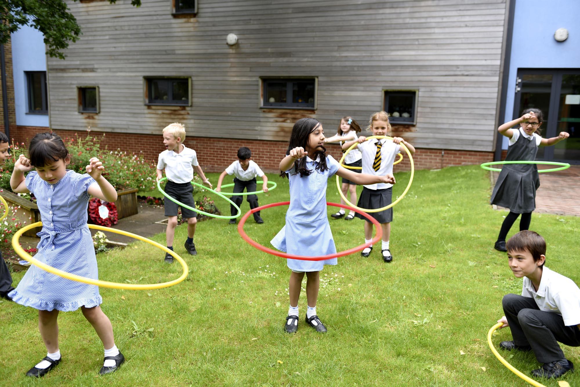 children-hula-hoops