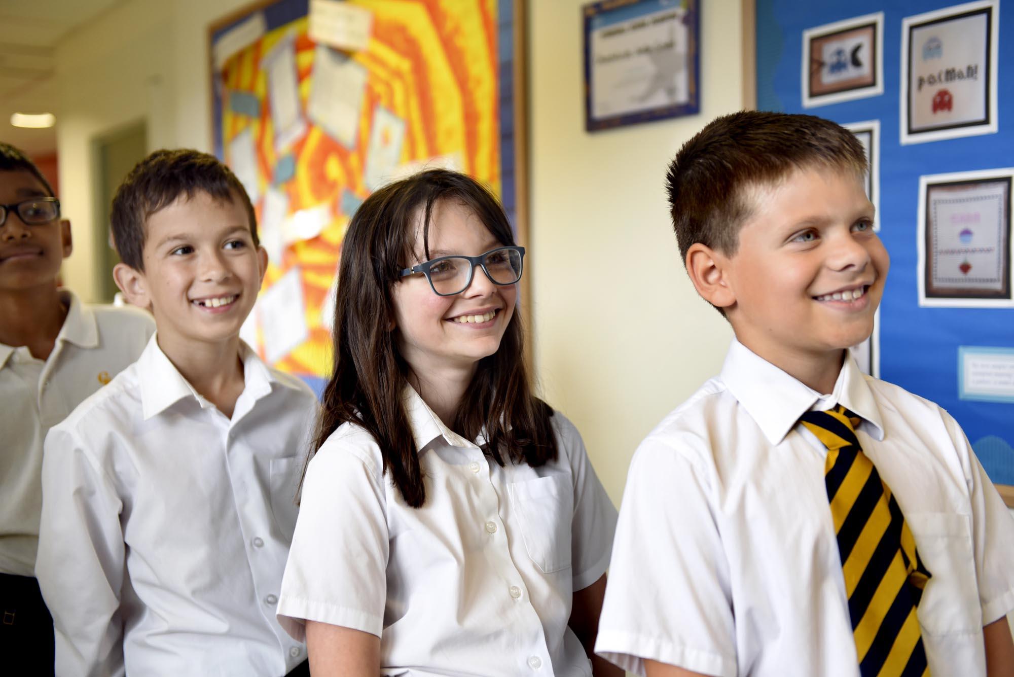 pupils-corridor