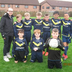 Year 6 football team